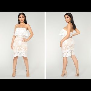 39ac547ca6 Fashion Nova White lace dress